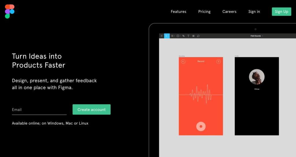 Figma, un outil pour la conception d'interface utilisateur