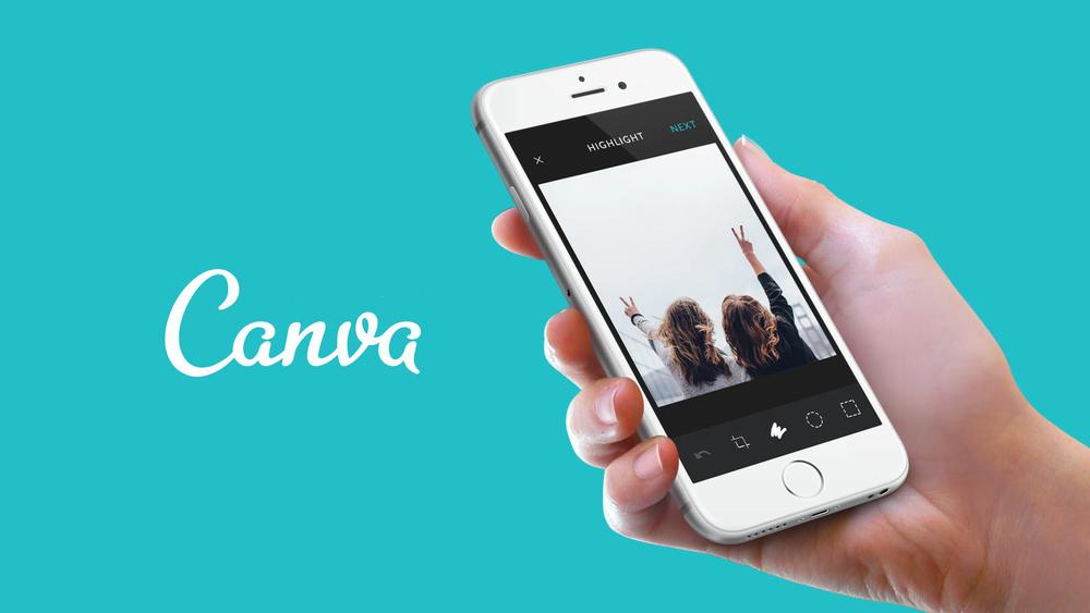 L'outil de traitement d'image en ligne, Canva